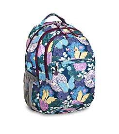 J World® Cornelia Secret Garden Laptop Backpack