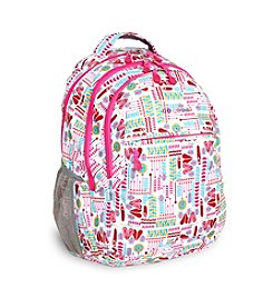 J World® Cornelia Heart Factory Laptop Backpack