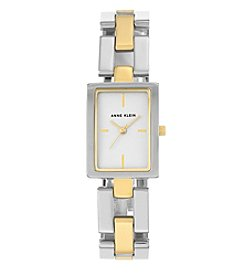Anne Klein®Studio Two-Tone Open Link Bracelet Watch