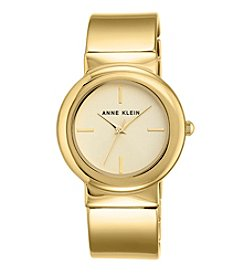 Anne Klein®Studio Goldtone Bangle Watch