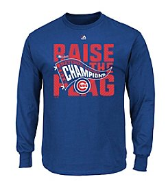 Majestic MLB® Chicago Cubs Men's League Champions Locker Room Long Sleeve Tee
