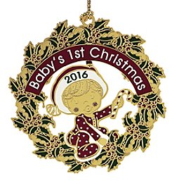 ChemArt 2016 Baby's First Christmas Ornament