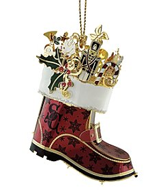 ChemArt Santa's Boot Ornament