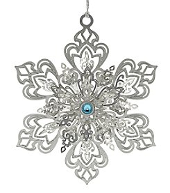 ChemArt Dazzling Snowflake Ornament