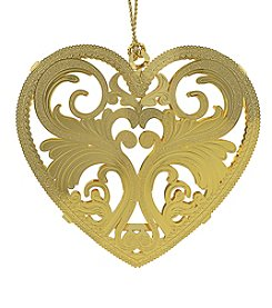 ChemArt Filigree Heart Ornament