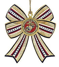 ChemArt Marine Corps 3D Bow Ornament