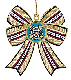 ChemArt Coast Guard 3D Bow Ornament