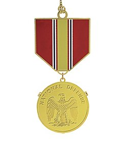 ChemArt Defense Medal Ornament