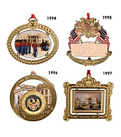 ChemArt White House 1994-1997 Ornaments Box Set