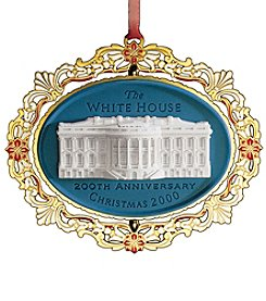 ChemArt White House 2000 Ornament