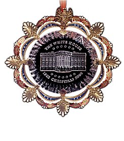 ChemArt White House 2002 Ornament