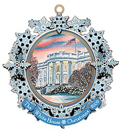 ChemArt White House 2009 Ornament