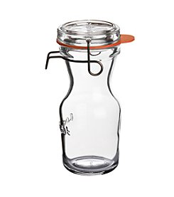 Luigi Bormioli Set of 6 8.5-oz. Lock-Eat Canning, Preserving &  Serving Juice Jars