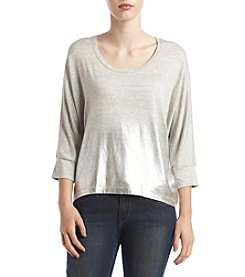 Splendid® Metallic Ombre Dolman Top