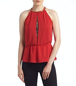 XOXO® Peplum Top