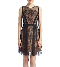 XOXO® Scallop Lace Dress