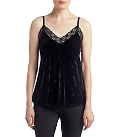 no comment™ Velvet Lace Trim Cami