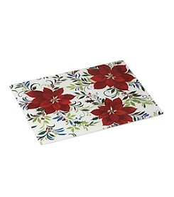 LivingQuarters Poinsettia Counter Saver