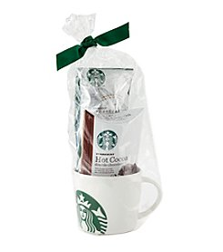 Starbucks® Holiday Cocoa & Coffee Mug Gift Set