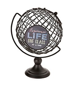 Boston Warehouse Globe Cork Holder