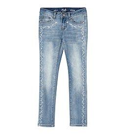 Earl Jean® Girls' 7-16 Trim Skinny Jean