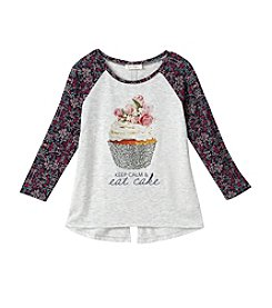 Jessica Simpson Girls' 7-16 Cupcake Tee