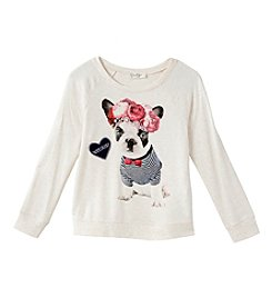 Jessica Simpson Girls' 7-16 Frenchie Sweater