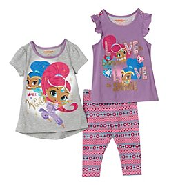 Nickelodeon® Girls' 4-6X Shimmer And Shine Love Top With Leggings