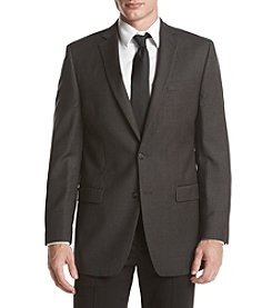 Calvin Klein Men's Mini Check Slim Fit Sport Coat