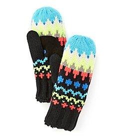 Isotoner® Signature Chevron Fair Isle Gloves