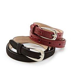 Fashion Focus Suede Belt