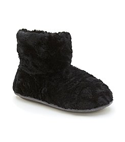 Cuddl Duds Notch Fur Booties