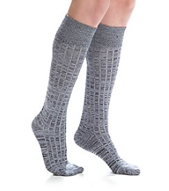 Cuddl Duds® Spacedye Turncuff Knee High Socks