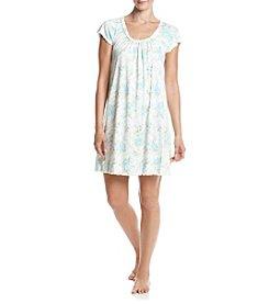 Miss Elaine® Blue Rose Gown