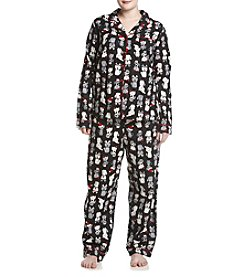Intimate Essentials® Plus Size Flannel Pajama Set