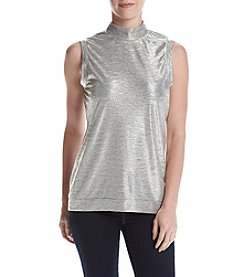 Chelsea & Theodore® Mock Neck Top
