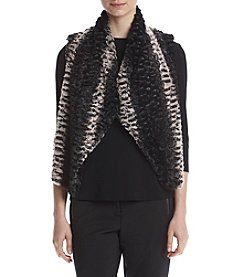 Cupio Crop Shawl Collar Vest