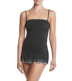 Relativity® Laser Cut Swim Dress