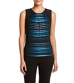 Calvin Klein Multi Line Pleated Neck Cami