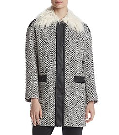 Jones New York® Jacket With Fur Lining