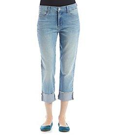 NYDJ® Wide Cuff Capri Jeans