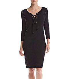 Tommy Hilfiger® Lace Up Dress