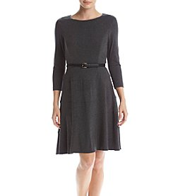 Tommy Hilfiger® Jersey Belted Dress