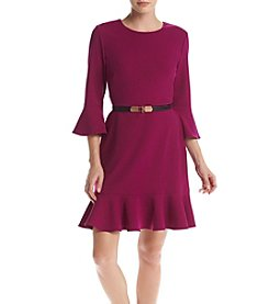 Ivanka Trump® Drop Waist Scuba Dress