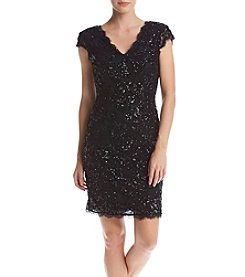 Betsy & Adam® Sequin Dress