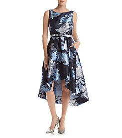Eliza J® Floral High Low Dress