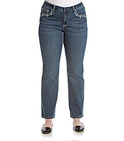 Earl Jean® Plus Size Slim Bootcut Jeans