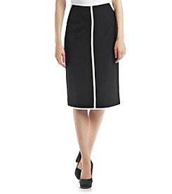 Kasper® Crepe Skirt