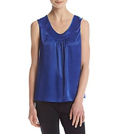 Kasper® Sleeveless V-Neck Blouse
