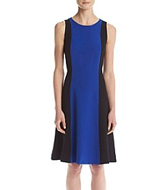 Kasper® Colorblock Stretch Dress